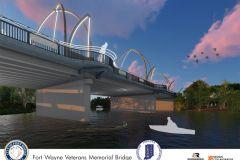 Spy Run Avenue bridge rendering