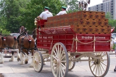 2006: The Budweiser Beer Wagon