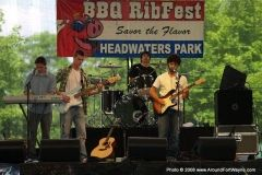 2008 BBQ Ribfest: One of the first bands