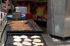 2008 BBQ Ribfest: Ribs and Chicken cooking at Two Fat Guys Bar-B-Q.