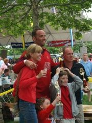 2009 Germanfest: Lloy Ball and family