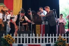 2009 Germanfest: Tapping the Keg