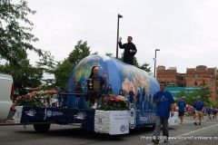 University of Saint Francis float