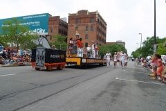 Indiana Tech float