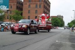 IU Alumni float