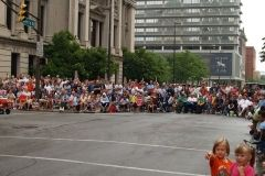 The crowd at the 2009 TRF Parade