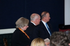 Marilyn Shultz, Joe Kernan, Governor Mitch Daniels