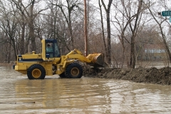 Constructing the clay levee