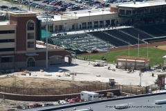 Meyers Park, parking deck and Parkview Field