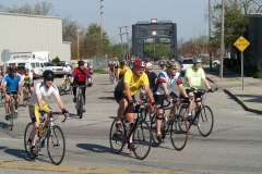 Phil Keoghan Ride Across America leaves Fort Wayne
