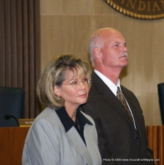 Dr. Deb McMahan and Nelson Peters