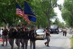 Allen County Sheriff's Color Guard