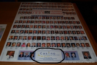 Indiana 2009 General Assembly poster