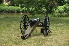 Reproduction of a 19th Century cannon