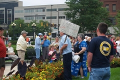 Health care rally