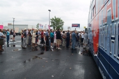 The Hands Off My Health Care bus tour