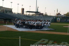 The TinCaps and dignitaries