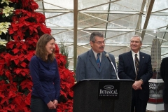 2009/11/24: Lisa Young, John Riley and Mayor Tom Henry