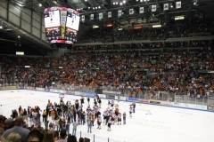 The Komets win!