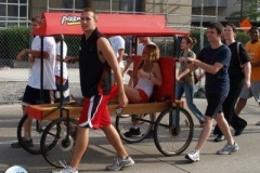 2010 TRF Bed Race: Pizza Hut