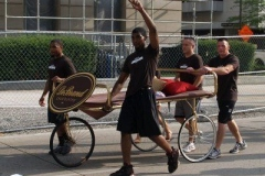 2010 TRF Bed Race: DeBrand Chocolates