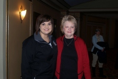 Abby Johnson and Cathie Humbarger