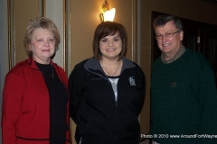 Cathie Humbarger, Abby Johnson and Congressman Mark Souder