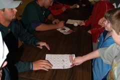 The TinCaps sign autographs
