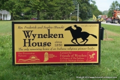 The Wyneken House sign