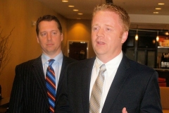 Eric Doden and John McGauley