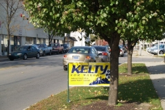 Matt Kelty yard sign