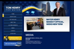 Tom Henry for Mayor website