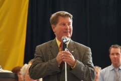 Geoff Paddock at the Germanfest Bier Tent opening