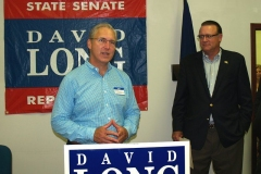 Mitch Harper and Indiana State Senator David Long