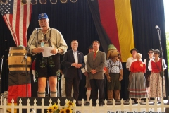 2012 Germanfest opening ceremony