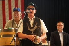 Past Germanfest President Mark Critchfield