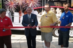 2012/07/13: cutting the ribbon