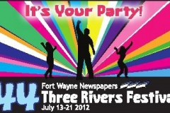 2012: Three Rivers Festival logo