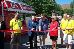 Three Rivers Festival ribbon cutting