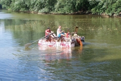 Team 'Spades' raft