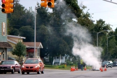 2015/09/28: Smoke testing at Spring Street and Sherman Boulevard