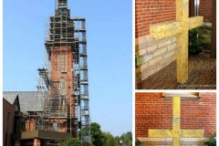2015/09/02: Emmanuel Lutheran Church Cross removal