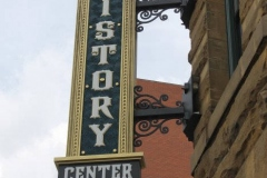 2016/04/25: New History Center sign