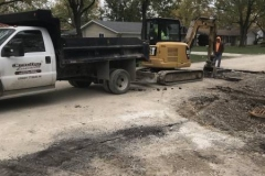 Brookside-Parkerdale storm water construction