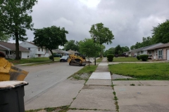 Crestwood Colony neighborhood water main