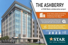 The Ashberry and new STAR Financial Bank HQ