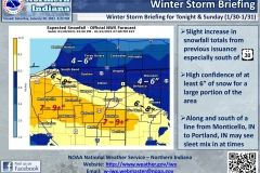 2021/01/30 @ 1622: NWS Winter Storm Warning Situation Report