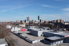 Northeast side of downtown Fort Wayne, Indiana