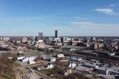 West side of downtown Fort Wayne