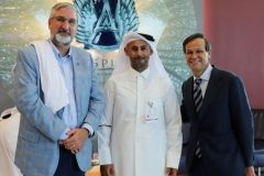 Indiana Governor Holcomb in Qatar